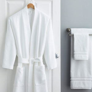 paige robe and towels